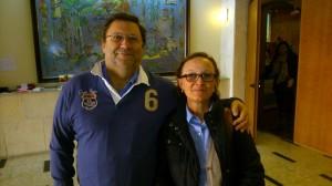 El consiliario Joaquín Sánchez y Cande Hernández participaron en las Jornadas.