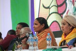 Intervenciones de las representantes de India y República Sudfricana.